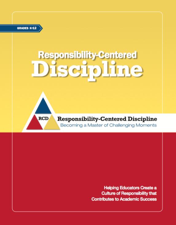responsibility centered discipline brochure