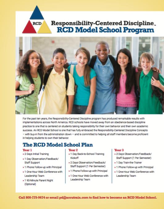 RCD Model Schools Brochure